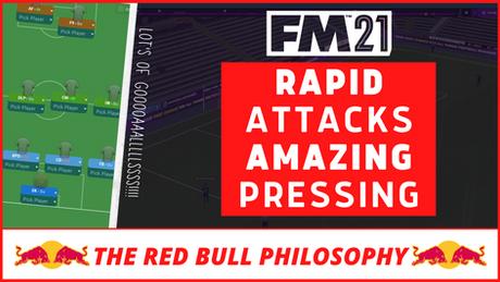 VIDEO: PERFECT Red Bull Model - Best FM21 Tactics