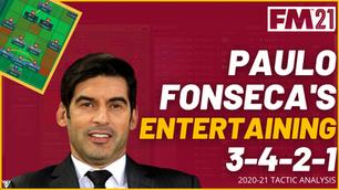 Paulo Fonseca - AS Roma - Tactical Analysis