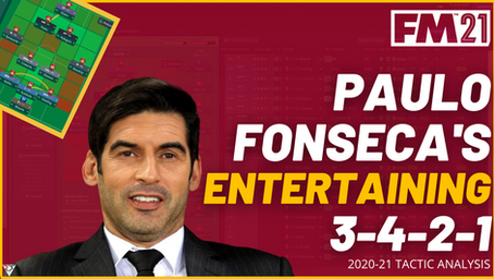 Paulo Fonseca - AS Roma - Tactical Analysis