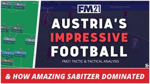 VIDEO: Austria's Amazing Sabitzer: Austria Tactical Analysis EURO2020