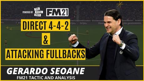 VIDEO: Gerardo Seoane 4-4-2 Tactical Analysis