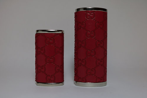Gucci Lighter Sleeve (Red Leather)