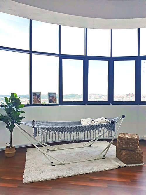Honolulu Ash Grey Resort + Grey Swing Chair