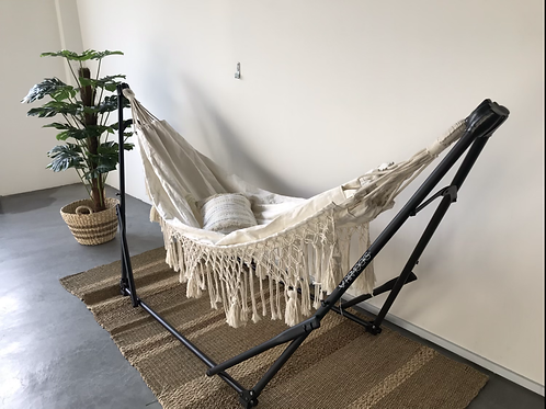 Dual Function Manhattan Crochet V2 + Grey Swing Chair