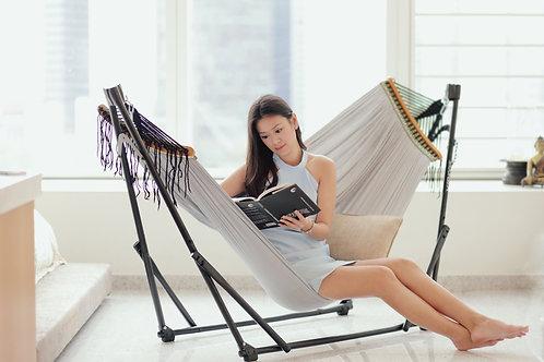 Ash Grey (Soft) + Grey Swing Chair