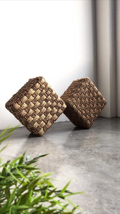 Rippō Cubic Pouf
