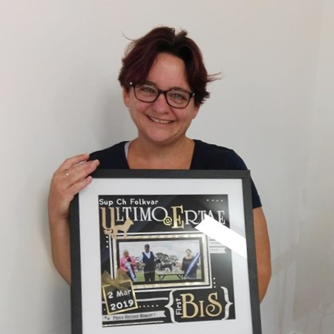 Liisa - proud breeder moment