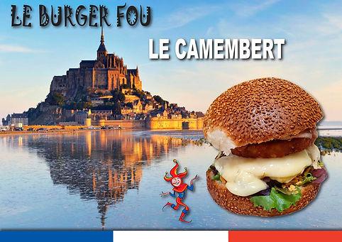 burger camembert