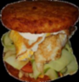 potatoes burger-le burger fou