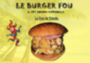 burger duo de viande le burge fou