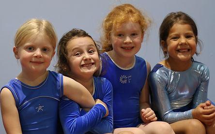 Gymnastics factory making friends