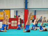 Gymnastics Factory squad gymnastics