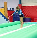 Gymnastics Factory air track gymnastics