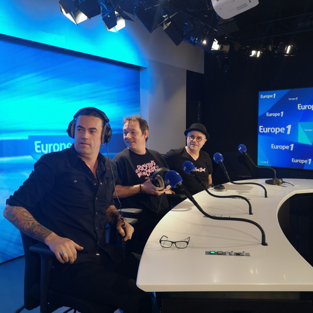 Europe 1 - Music Club Emilie Bazoyer- Jean Philippe Balasse