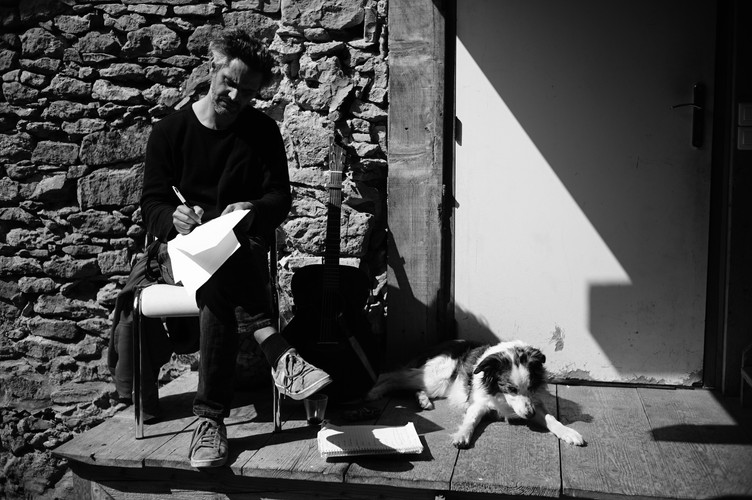 Enregistrement de l'album  © Pierre Luc Jamain