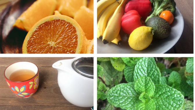 Salicylates are found in plant foods such as oranges, tea, mint and some fruits and vegetables.