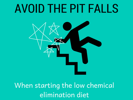 Common traps when starting the FAILSAFE elimination diet