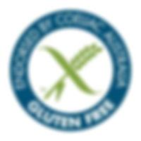 The Coeliac Australia cetified logo