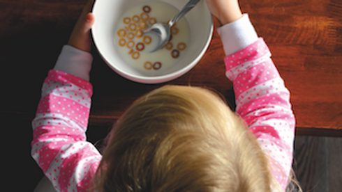 Many babies and kids are intolerant to dairy protein