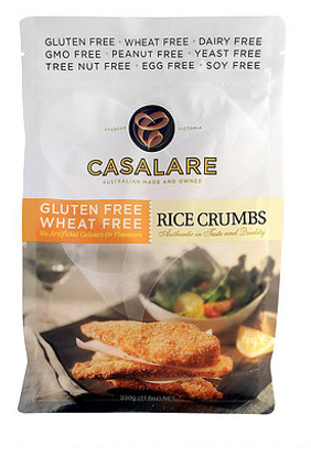 Casalare rice crumbs are gluten free and additive free