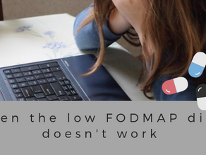 When the low FODMAP diet doesn't work.