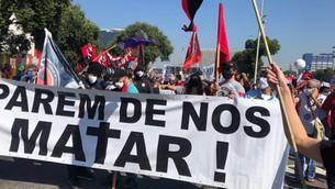 CRESCEM AS MANIFESTAÇÕES EM TODO O BRASIL: FORA BOLSONARO!
