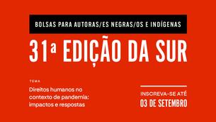 Revista Sur oferece bolsa de escrita para pessoas Negras e indígenas