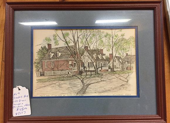 Prentis Dixon House Artwork