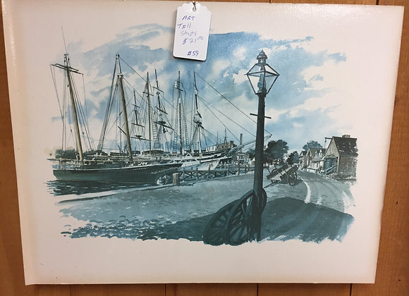 Tall Ships Painting