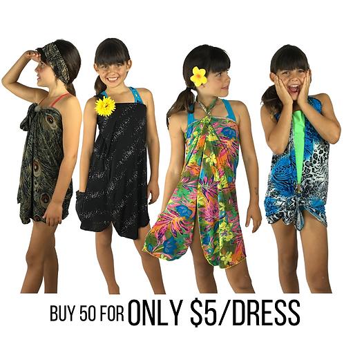 Mix Bag Bulk Deal - Get 50 KIDS dresses for $5 each