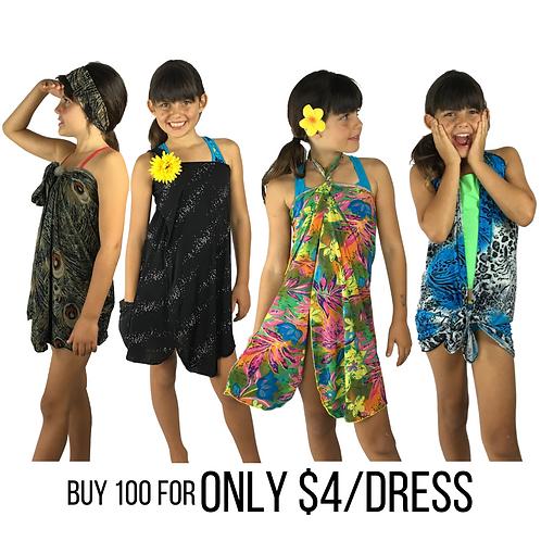 Mix Bag Bulk Deal - Get 100 KIDS dresses for $4 each