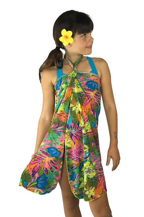 Kids Hawaiian Dress