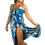 Thumbnail: Blue Animal Long Dress