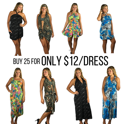 Mix Bag Bulk Deal - Get 25 cover-ups for $12 each