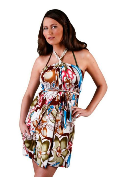 Geisha Short Dress