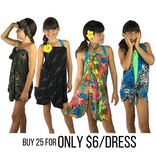 Mix Bag Bulk Deal - Get 25 KIDS dresses for $6 each