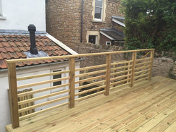 Decking Top Level