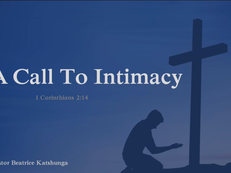 A Call to Intimacy