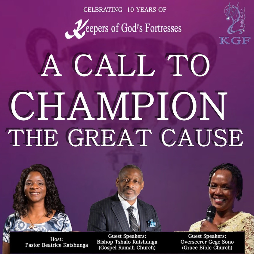 Keepers of God's Fortresses' 10th Anniversary Conference