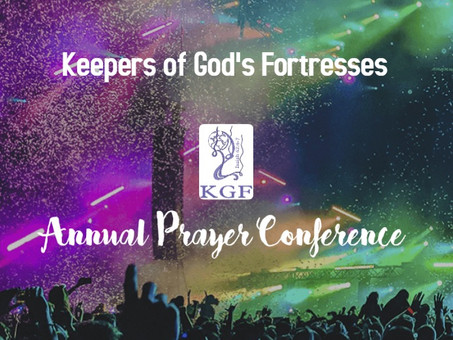 KGF Prayer Conference 2019: Coming Soon