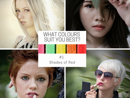 What colours suit me? Shades of Red (#1)
