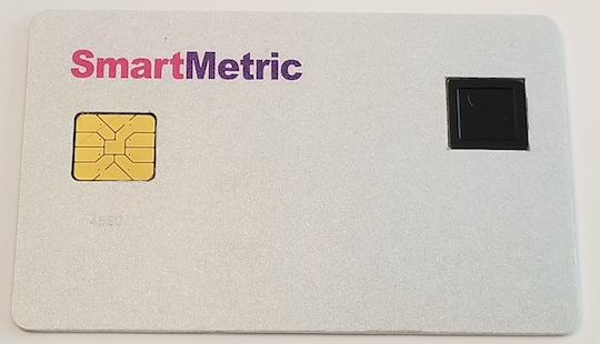 smartmetric card