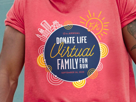 Ten Reasons to Sign Up for the Virtual Donate Life Family Fun Run