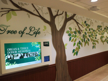 Donate Life Month: Memorial Wall at GBMC