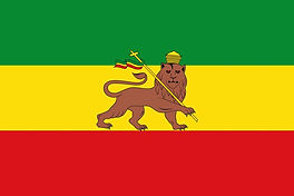 Ethiopian Flag Judah's Victory Jeshu is reflected on the staff of the Lioness who he's carrying it 2 is that the Lion is backed agaisn't the wall of God and Jeshu.com is a Spiritual Website and Ethiopia is miles and mile mile away from home