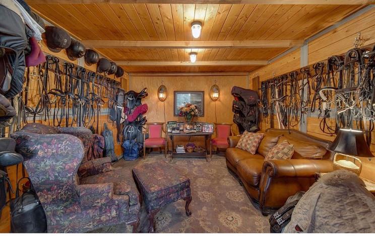 Heated Tack Room
