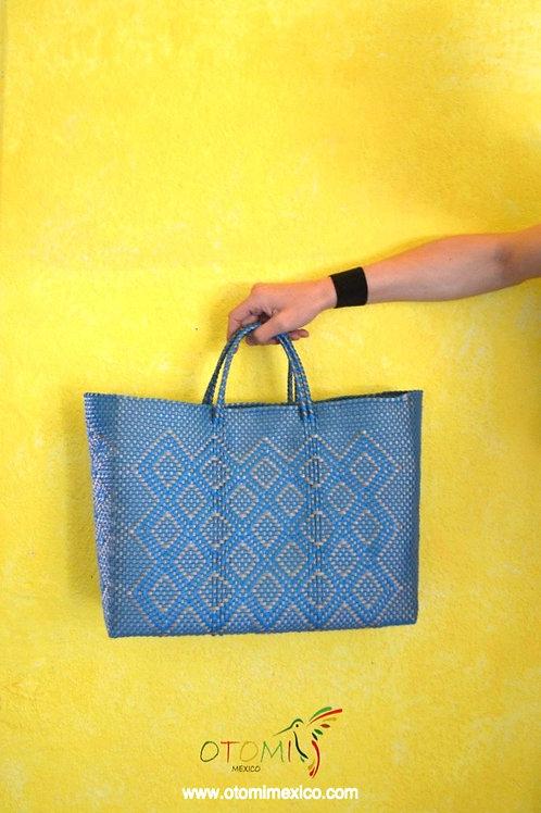 Mexican Woven Bags-Blue Beach