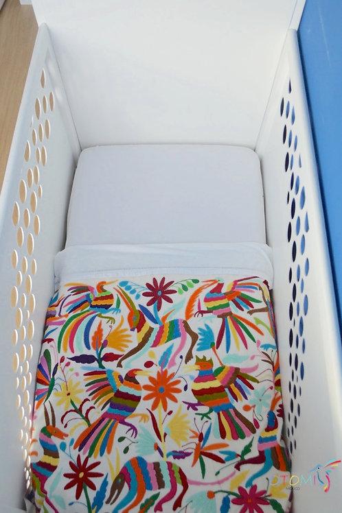 Otomi Blanket | Otomi baby bedspread