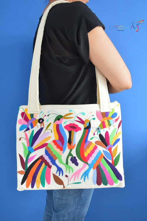 Embroidered Bag Otomi - Multicolor