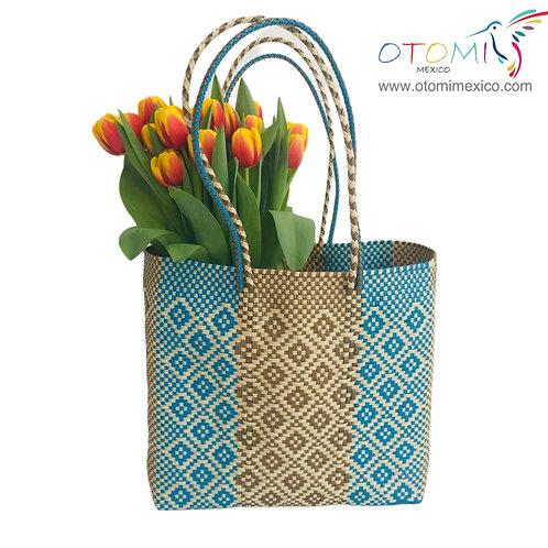 tote bag in blue